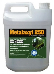 Metalaxyl 250 5L container
