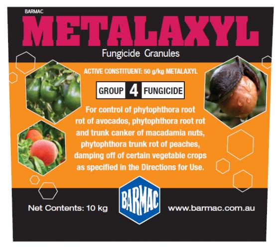 Metalaxyl Fungicide Granule - PACKLABEL