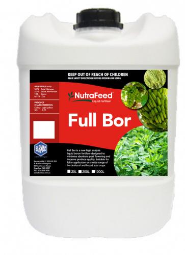 NutraFeed Liquid Full Bor -PACKSHOT