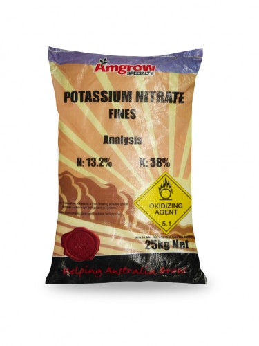 Potassium nitrate fines