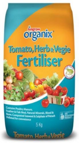 Organix Tomato Herb & Vegie Fertiliser -Packshot