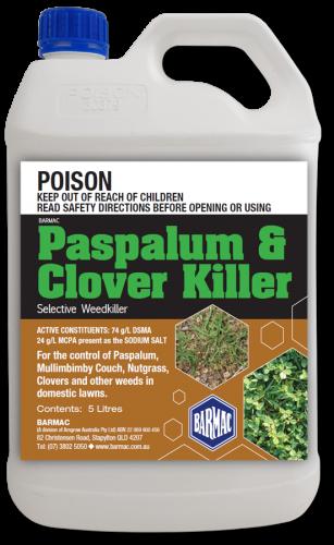 Paspalum & Clover Killer Packshot - 5L