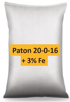 Paton 20 0 16 + 3 Fe