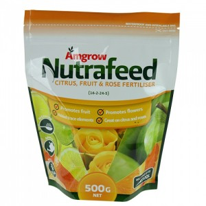 nutrafeed citrus fruit rose fertiliser 500g