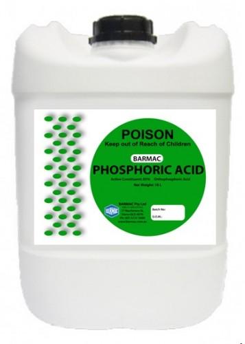 Phosphoric Acid -PACKSHOT